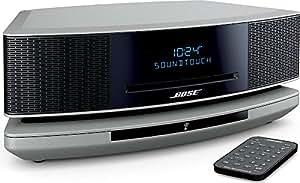 Bose Wave SoundTouch music system IV パーソナルオーディオシステム Bluetooth・Wi-Fi対応 プラチナムシルバー WST IV PS【国内正規品】