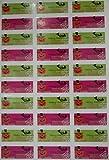 (ジュエリーエンジェル) JEWELRY ANGEL ハロウィン シール ラベル ステッカー 30枚×10シート 300枚