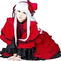 ウィッグ付き★ 栉名アンナ くしな あんな (Kushina Anna)ももばみ きらり 第一段階 風 コスプレ 衣装 ロリータ lolita コスチューム cosplay 衣装 9点セット