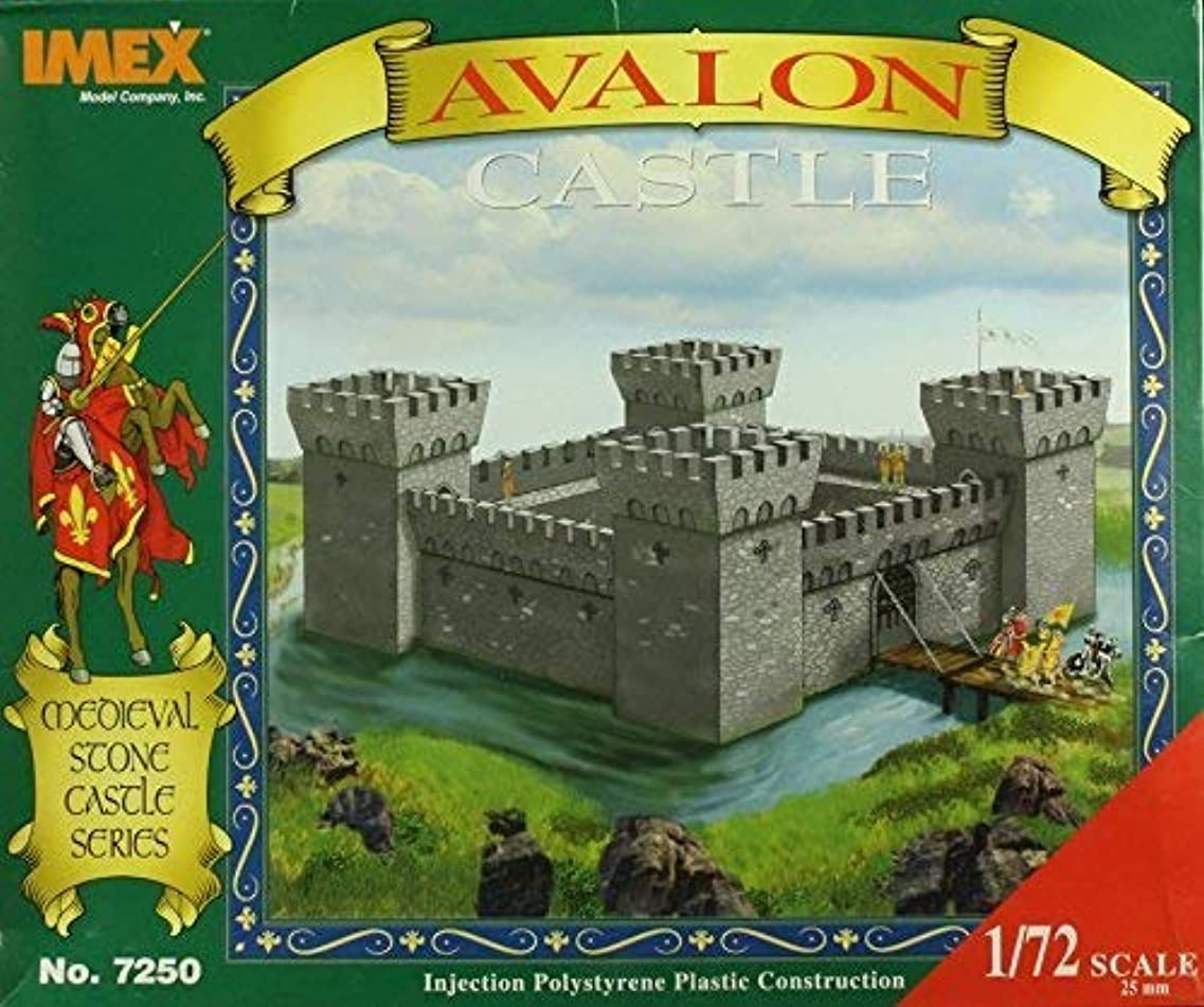 合成藤色温室IMEX 1:72 Mediaeval Avalon Castle Plastic Diorama Kit 7250