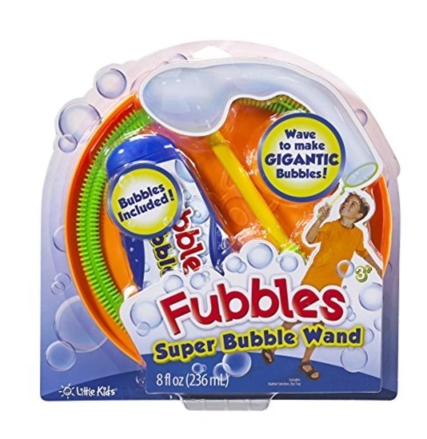 Little Kids Super Fubbles Bubble Wand (Colors May Vary) [並行輸入品]