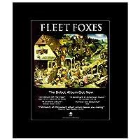 FLEET FOXES - Debut Album Matted Mini Poster - 30x24.2cm