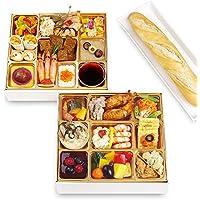 神戸バランスキッチン ビストロおせち 「ナルシス」 洋風2段重 2-3人前 (12月28日(金) お届け)