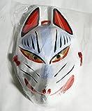 日本の巧み/狐のお面/しっかりした紙製/稲荷お面