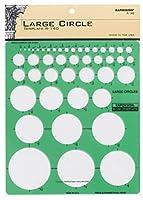アルビン&Coの140R大サークル図面テンプレート