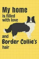 My home is filled with love and Border Collie's hair: For Border Collie Dog fans