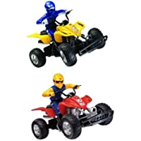 Radio Controlled ATV w/ Rider Green by Kid Connect [並行輸入品]