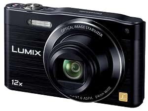 Panasonic デジタルカメラ ルミックス SZ8 光学12倍 ブラック DMC-SZ8-K