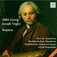 Requiem by Georg Joseph Vogler (1999-11-08)
