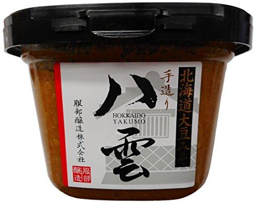 服部醸造 徳川家御用味噌 北海道産大豆使用 八雲 750g