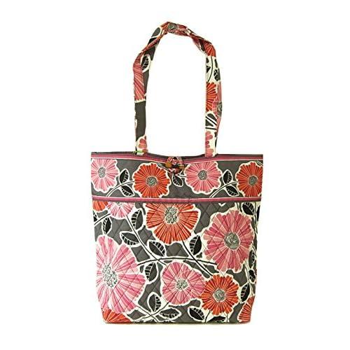 (ヴェラ・ブラッドリー)Vera Bradley トートバッグ Tote (Cherry Blossoms) 10449-170 VB-100 [並行輸入品]