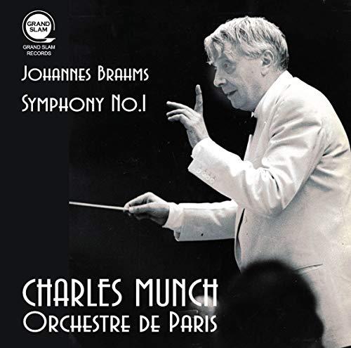 ブラームス : 交響曲第1番 / シャルル・ミュンシュ   パリ管弦楽団 (Brahms: Symphony No.1 / Munch & Orchestre de Paris) [CD] [国内プレス] [日本語帯・解説付]