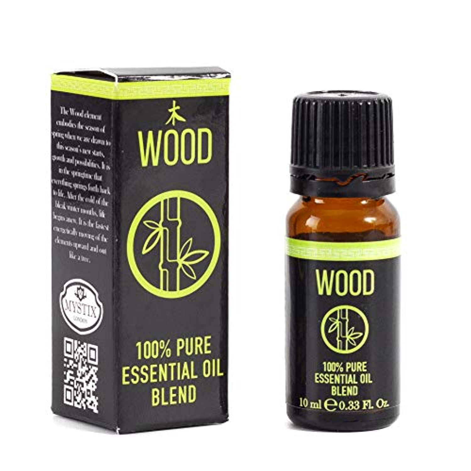 フェード真剣に一握りMystix London | Chinese Wood Element Essential Oil Blend - 10ml