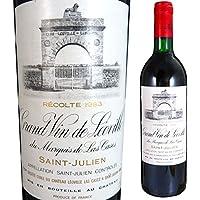 シャトー レオヴィル ラス カーズ 1983 750ml 赤ワイン サンジュリアン 格付2級