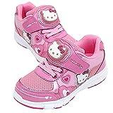 [ハローキティ] [サンリオ] Hello Kitty 子供靴 女の子 ライトアップ スニーカー シューズ ぴかぴか光る 靴 [並行輸入品]
