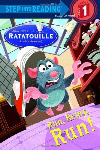 Run, Remy, Run! (Disney/Pixar Ratatouille) (Step into Reading)の詳細を見る