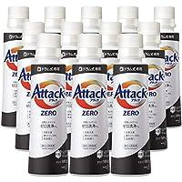 【ケース販売】アタック ZERO(ゼロ) 洗濯洗剤 液体 ドラム式専用 本体 580g×12個 (衣類よみがえる「ゼロ洗浄」へ)