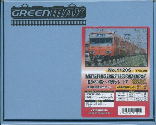 Nゲージ 1120S 名鉄6500系1~3次車 グレードア 4両編成基本セット