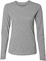 Russell Athletic Womens 64LTTX0 Essential Long Sleeve Tee Long Sleeve T-Shirt