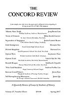 The Concord Review: V27 No. 3 Spring [並行輸入品]