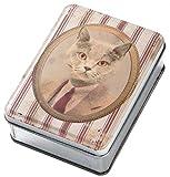 トスダイス 小物入れ CLASSIC PORTRAIT TINCAN CAT-A FA10374A