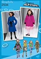 SIMPLICITY CHILD GIRL JACKETS COATS-3-4-5-6 (並行輸入品)
