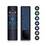 T6エアリモートコントロール/ミニワイヤレスキーボード、Android TVボックス/PC/スマートTV/プロジェクター/HTPC/IPTV /パッドおよびその他のデバイス用65249