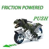 恐竜玩具BigNoseDeer 動物の摩擦駆動のオートバイ玩具