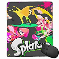 AIFONG 3D柄プリント スプラトゥーン2 マウスパッド ゲーミング おしゃれ ゲーミン コンピュータ マウスパッド カスタマイズ Mouse Pad アクセサリ 防水 滑り止め