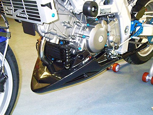Puig(プーチ)   エンジンスポイラー(ENGINE-SPOILER)  カーボンルック  SUZUKI SV650/SV650S(99-08)/DL650 VSTROM(04-11)  puig-1633C