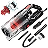 Epzia Car Vacuum, Portable Car Vacuum Cleaner High Power Vacuum for Car Interior Cleaning with Wet or Dry for Men/Women, 16.5