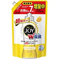 除菌ジョイ コンパクト 食器洗剤 スパークリングレモンの香り 詰め替え 超特大増量 1120 mL