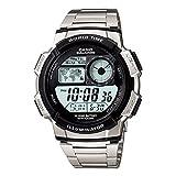 「CASIO カシオ AE-1000WD-1A AE1000WD-1A スポーツ ワールドタイム搭載 メタルベルト メンズウォッチ 腕時計 [並行輸入品]」のサムネイル画像
