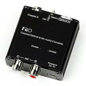 FiiO D3 Digital to Analog Audio Converter 並行輸入