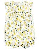 カーターズ Carter's ロンパース 半袖 ショートオール ベビー服 女の子 レモン (12months(72-78cm)) [並行輸入品]