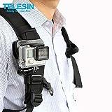 TELESIN 360°回転式 クリップマウント Gopro Hero5/4/3/2、Xiaomi Yi /Xiaomi Yi 4K、SJCAM/SJ5000/SJ4000などのスポーツカメラに対応