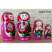 Russian Nesting Doll (Maidan) * 3 Pcs / 4 in * mdn-3.4.11-2