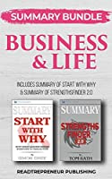 Summary Bundle: Business & Life - Readtrepreneur Publishing: Includes Summary of Start With Why & Summary of StrengthsFinder 2.0