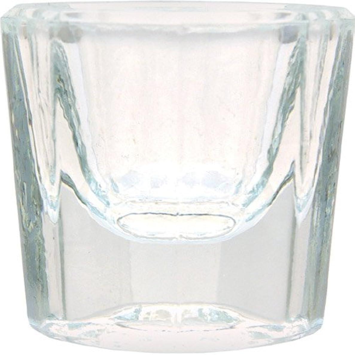 溶岩標準波紋ダッペンディッシュ ガラス製