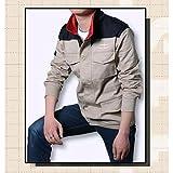 コスプレ衣装 機動戦士ガンダム 風、地球連邦軍 ジャケット cosplay、作業服、洗濯可 (L)
