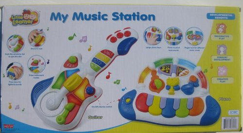 Little Learner My Music Station Two Piece Musical Set by Little Learner