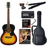 Sepia Crue アコースティックギター 初心者入門バリューセット フォークタイプ FG-10/VS ヴィンテージサンバースト