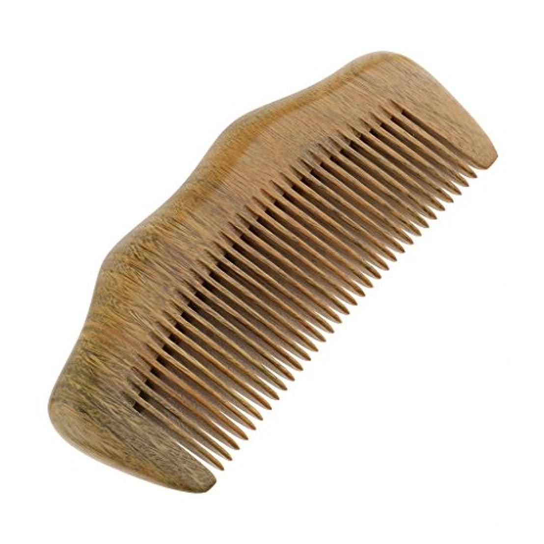 きつくチャンピオンシップよろしくSM SunniMix コーム 木製櫛 リングコーム ヘアブラシ 静電気防止 ヘアケア 頭皮マッサージ 男女兼用