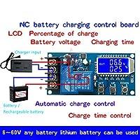 XY-L30A NC バッテリー充電制御モジュールデジタルフルパワーオフ過充電保護スイッチ 6-60 ボルト lcd ディスプレイ