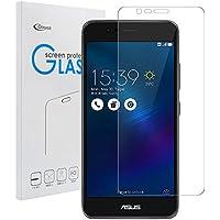 Asus Zenfone 3 Max ZC520TL 強化ガラスフィルム【Qosea】Asus Zenfone 3 Max ZC520TL 液晶保護フィルム 硬度9H 指紋防止 飛散防止 超薄0.3mm 2.5D ラウンドエッジ加工(Asus Zenfone 3 Max ZC520TL 強化ガラスフィルム)