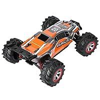 RCカー高速レーシングカーすべての大人と子供のための電気オフロード車(オレンジ)