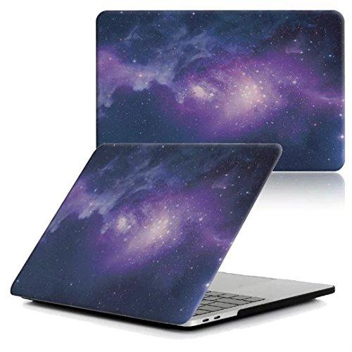 New MacBook Pro 13インチ 2016 ケース MaxKu 高品質シェルカバー 超薄型 超軽量 耐衝撃 ハードケース (対応モデル:2016 New MacBook Pro 13 Touch Bar搭載A1706 / Touch BarなしA1708)【実機確認済】 多色選択可能 宇宙 星 模様