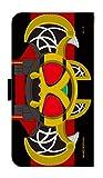 【公式】 仮面ライダーキバ 手帳型 スマホ ケース Xperia Z3(SO-01G・SOL26・401SO) ライダーベルト
