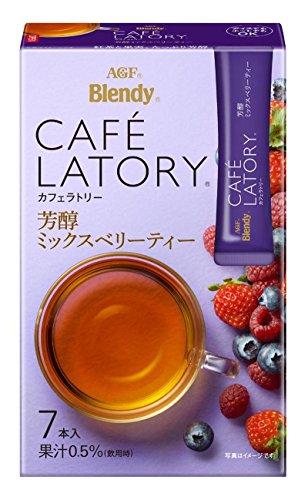 味の素AGF カフェラトリー スティック 芳醇ミックスベリーティー 1セット 42本:7本×6箱