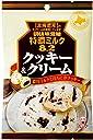 味覚糖 特濃ミルク8.2 クッキー クリーム 84G×6袋